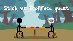 Stick vs Trollface Quest Android Mobile Phone Game
