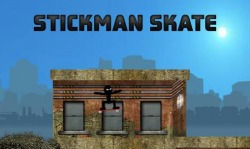 Stickman Skate Android Mobile Phone Game