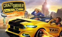 Crazy Driver: Taxi Duty 3D Part 2 Android Mobile Phone Game
