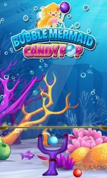 Bubble Mermaid: Candy Pop Android Mobile Phone Game