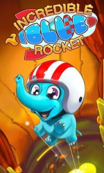 Incredible Blue Rocket Android Mobile Phone Game