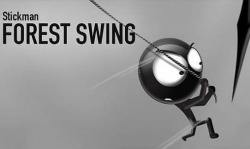 Stickman Forest Swing Android Mobile Phone Game