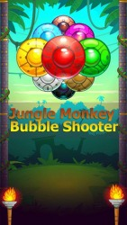 Jungle Monkey Bubble Shooter Android Mobile Phone Game