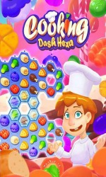 Cooking: Dash Hexa Android Mobile Phone Game