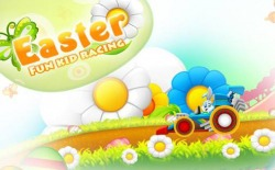 Easter Bunny: Fun Kid Racing Android Mobile Phone Game