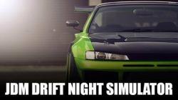 JDM: Drift Night Simulator Android Mobile Phone Game