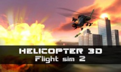 Helicopter 3D: Flight Sim 2 Android Mobile Phone Game