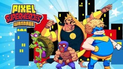 Pixel Superheroes: Wannabe Android Mobile Phone Game