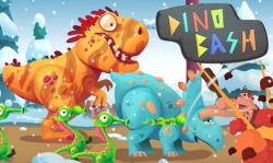 Dino Bash Android Mobile Phone Game