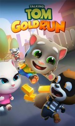 Talking Tom: Gold Run Android Mobile Phone Game