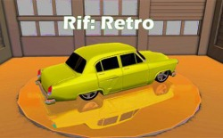 Racing In Flow: Retro Android Mobile Phone Game