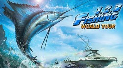 Fishing Hero. 1, 2, 3 Fishing: World Tour Android Mobile Phone Game