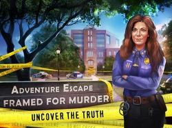 Adventure Escape: Framed For Murder Android Mobile Phone Game