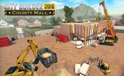 City Builder 2016: County Mall Android Mobile Phone Game