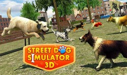 Street Dog Simulator 3D Android Mobile Phone Game