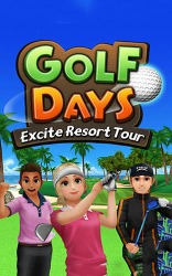 Golf Days: Excite Resort Tour Android Mobile Phone Game