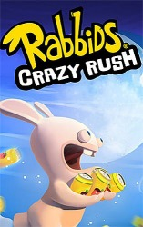 Rabbids: Crazy Rush Android Mobile Phone Game