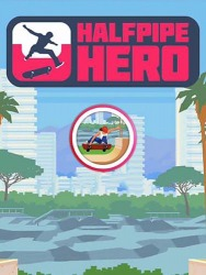 Halfpipe Hero: Skateboarding Android Mobile Phone Game