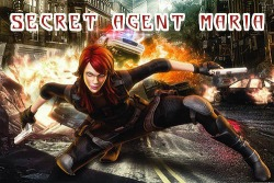 Secret Agent Maria Android Mobile Phone Game