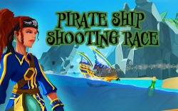 Pirate Ship Shooting Race Android Mobile Phone Game