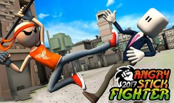 Angry Stick Fighter 2017 Android Mobile Phone Game