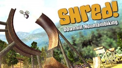 Shred! Downhill Mountainbiking Android Mobile Phone Game