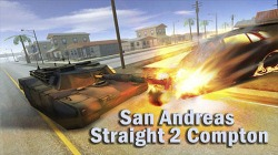 San Andreas Straight 2 Compton Android Mobile Phone Game
