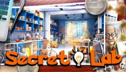Hidden Objects: Secret Lab Android Mobile Phone Game