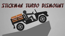 Stickman Turbo Dismount Android Mobile Phone Game