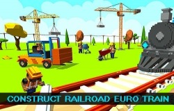 Construct Railroad Euro Train Android Mobile Phone Game