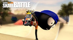 Stickman Skate Battle Android Mobile Phone Game