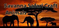 Savanna Safari Craft: Animals