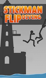Stickman Flip Diving Android Mobile Phone Game