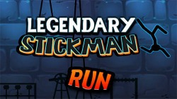 Legendary Stickman Run Android Mobile Phone Game