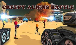 Creepy Aliens Battle Simulator 3D