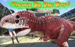 Dinosaur Simulator 2: Dino City Android Mobile Phone Game