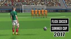 Flick Soccer Summer Cup 2017 Android Mobile Phone Game