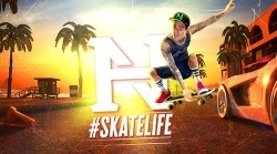 Nyjah Huston: Skatelife Android Mobile Phone Game