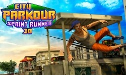 City Parkour Sprint Runner 3D Android Mobile Phone Game