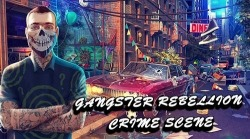 Hidden Objects: Gangster Rebellion. Crime Scene Android Mobile Phone Game