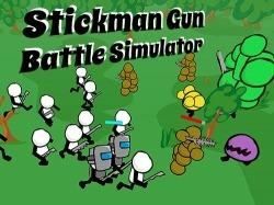 Stickman Gun Battle Simulator Android Mobile Phone Game