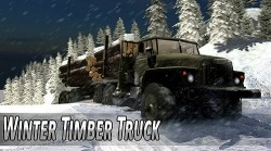 Download Free Android Game Winter Timber Truck Simulator