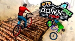 MTB Downhill Cycle Race Android Mobile Phone Game