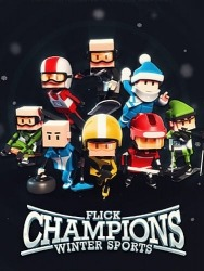 Flick Champions Winter Sports Android Mobile Phone Game