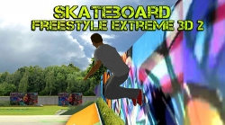Skateboard Freestyle Extreme 3D 2 Android Mobile Phone Game