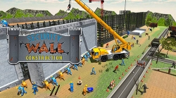 Border Security Wall Construction Android Mobile Phone Game