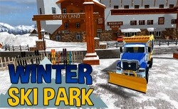Winter Ski Park: Snow Driver Android Mobile Phone Game