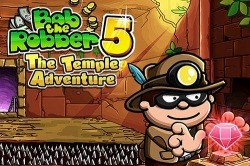 Bob The Robber 5: The Temple Adventure Android Mobile Phone Game