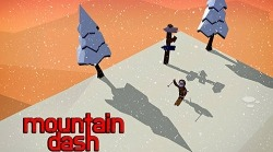 Mountain Dash: Endless Skiing Race Android Mobile Phone Game