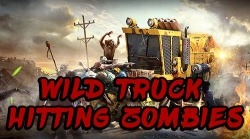Wild Truck Hitting Zombies Android Mobile Phone Game